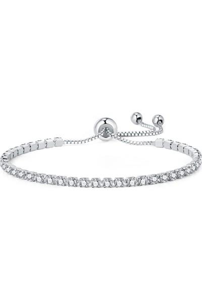 VipBT Beyaz Kübik Zirkon Lüks Bileklik Armbanden Voor Vrouwen Bijoux