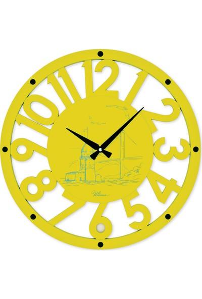 Regal 2680 Y Ahşap İskelet Duvar Saati