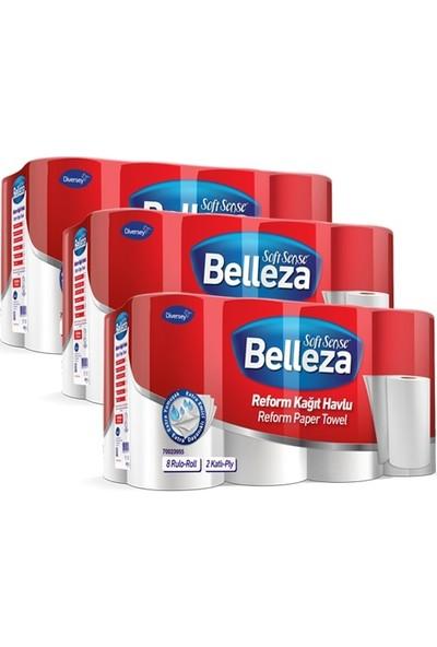 Belleza Reform Rulo Havlu 90yp 24' lü