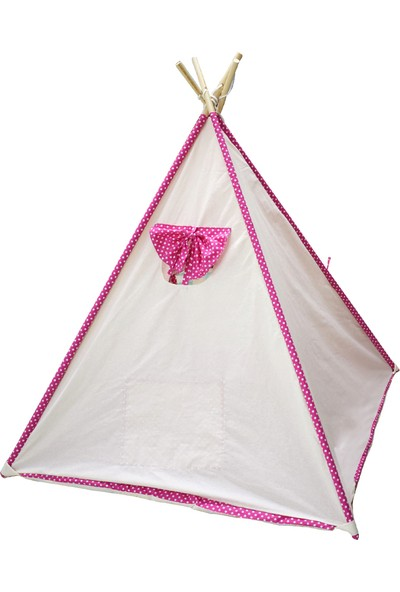 Hupim Pamuk Ahşap Kızıldereli Oyun Ve Uyku Çadırı