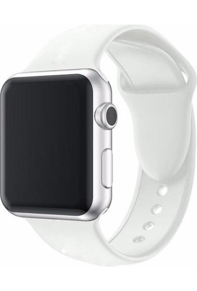 Markacase Apple Watch 38 mm İçin Silikon Kordon