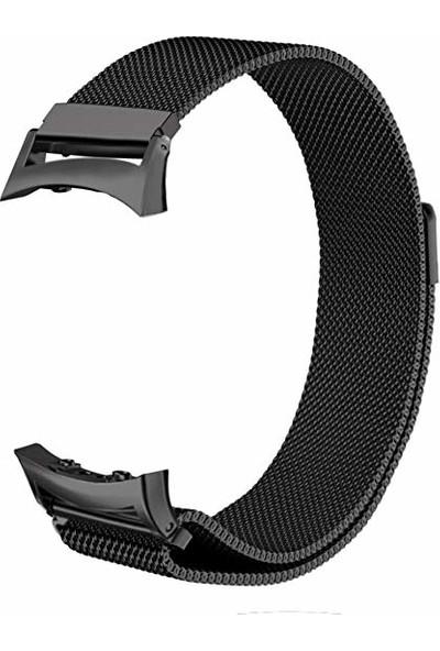 Markacase Samsung Gear Fit 2 İçin R360-R365 Milanese Manyetik Kordon