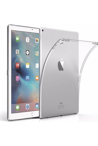 Redpoloshop Apple iPad 6. Nesil 2018 9.7 A1893 A1954 Kılıf Transparan Silikon Tpu