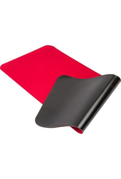 Tkz 300 x 700 x 3 mm Oyuncu Uzun Kaymaz Mouse Pad - Kırmızı