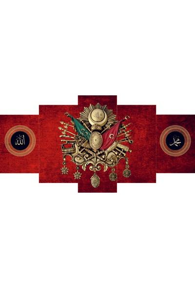 Reticolor Osmanlı Armalı Mdf Tablo