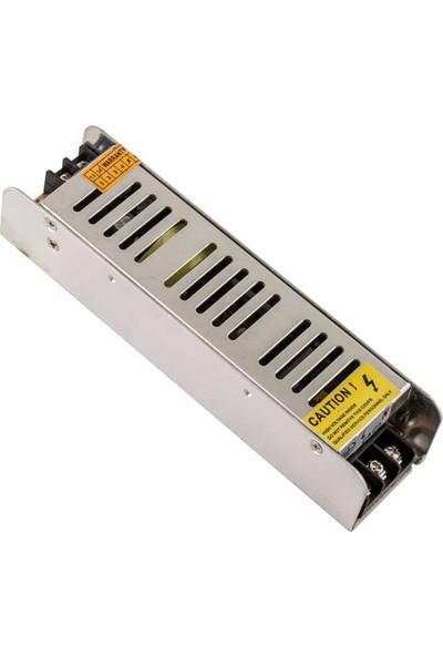 Noas 12V 10A 120W Metal Kasa A+ Kalite Güvenlik Kamerası CCTV Adaptörü