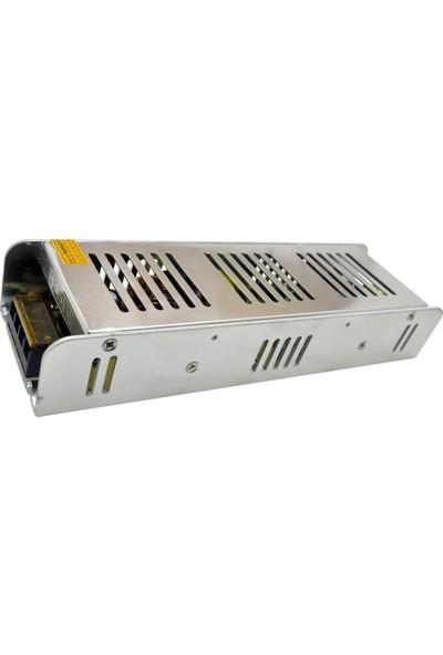 Noas 12V 20A 240W Metal Kasa A+ Kalite Güvenlik Kamerası CCTV Adaptörü