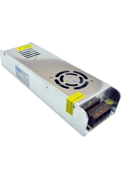 Noas 12V 30A 360W Metal Kasa A+ Güvenlik Kamerası CCTV Adaptörü