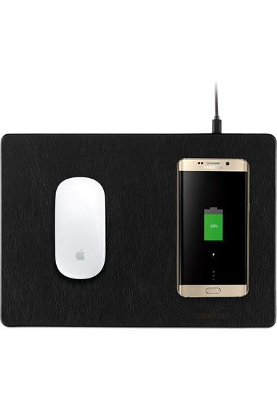 MiniBatt Kablosuz Şarj Mause Pad Powerpad - Qi Kablosuz Mause Pad