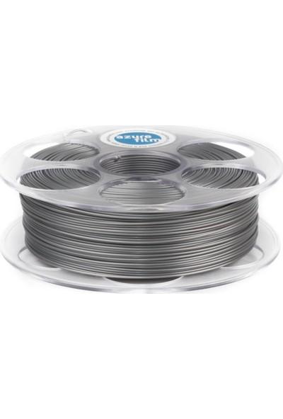 Azure Film PLA Filament - Gümüş 1,75 mm, 1 kg