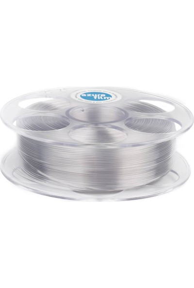 Azure Film PETG Filament - Transparan 1,75 mm, 1 kg
