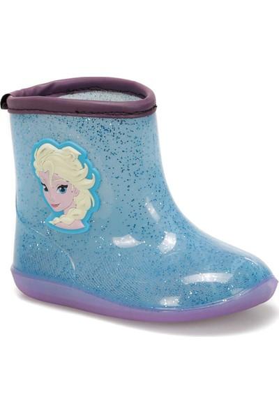 Frozen 97240 Mavi Lacivert Kız Çocuk Yağmur Çizmesi
