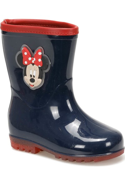 Mickey Mouse 97250 Siyah Kırmızı Kız Çocuk Yağmur Çizmesi