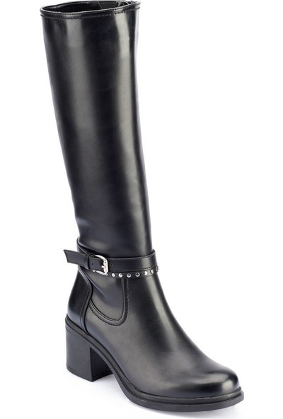 Polaris 82.312243.Z Siyah Kadın Ayakkabı