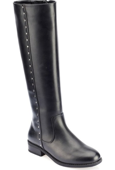 Polaris 82.312405.Z Siyah Kadın Dress Ayakkabı