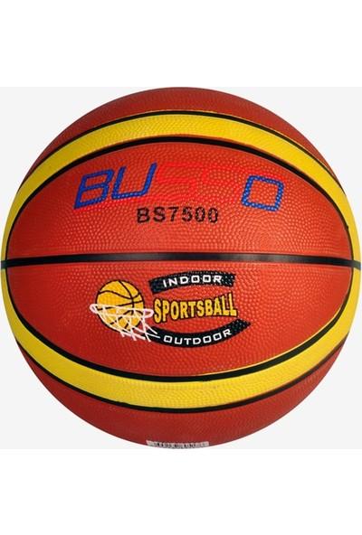 Busso BS7500 Kauçuk Basketbol Topu 7 Numara