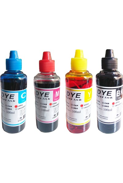 For Lexmark Hp Deskjet Ink Advantage 2060 All-İn-One Yazıcı Serisi - K110 Siyah Dye Bazlı Mürekkep