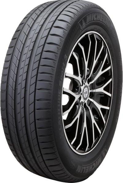 Michelin 255/45R19 100V Latitude Sport 3 GRNX Yaz Lastiği
