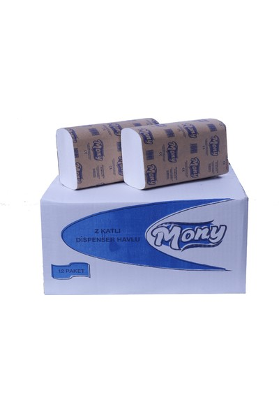 Mony Z Katlı Dispenser Havlu (%100 Selüloz) 150 X 12