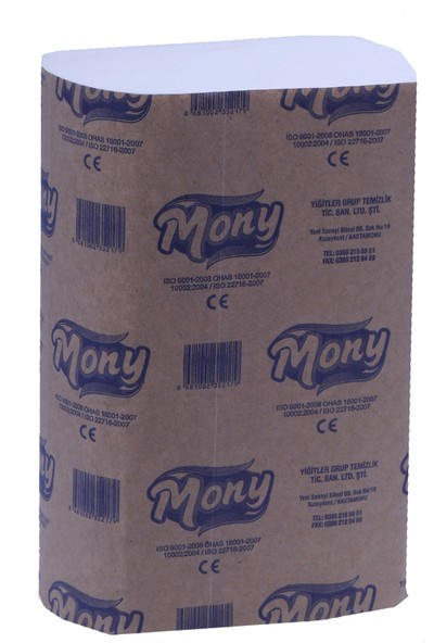 Mony Z Katlı Dispenser Havlu (%100 Selüloz) 200 X 12