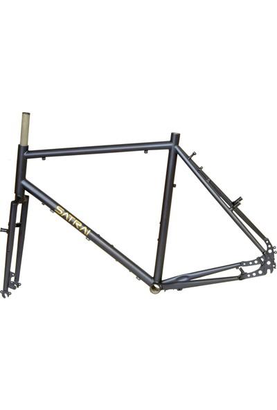 Satrai 2018 Cromoly Tur Bisikleti Kadro Set