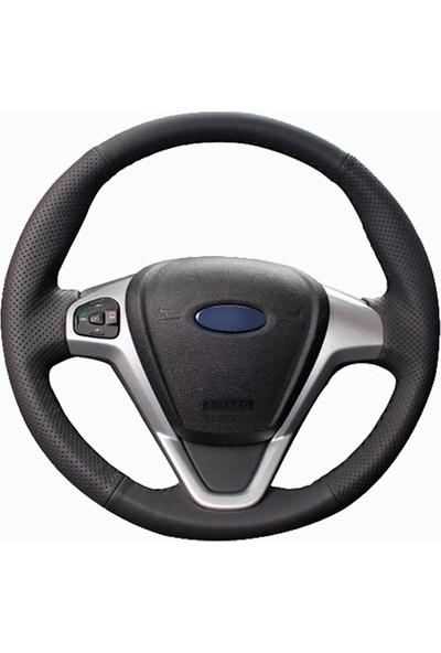 Fox Ford Fiesta 08-13 Uyumlu Araca Özel Deri Direksiyon Kılıfı