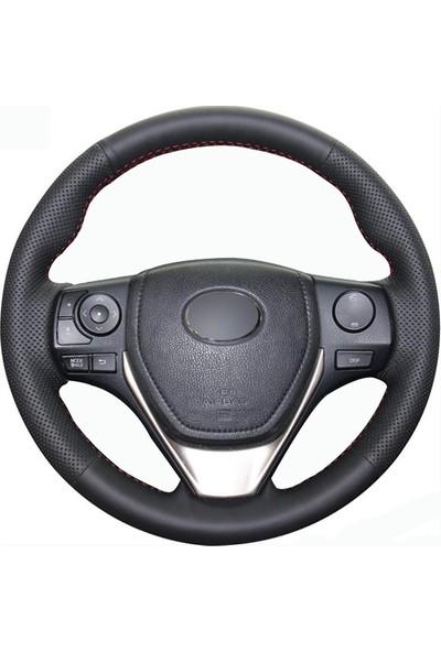 Fox Toyota Corolla 14-17 Uyumlu Araca Özel Deri Direksiyon Kılıfı