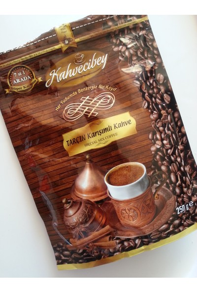 Kahvecibey Tarçın Karışımlı Kahve 250 gr