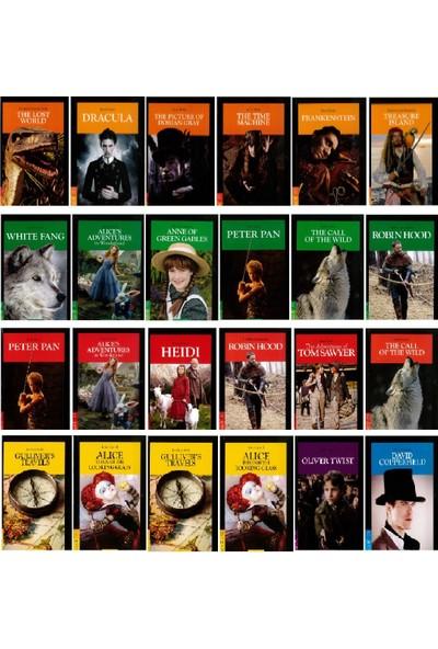Murat Kurt Yayınları İngilizce Hikayeler 24 Kitap Set - Stage 1-2-3-4-5-6