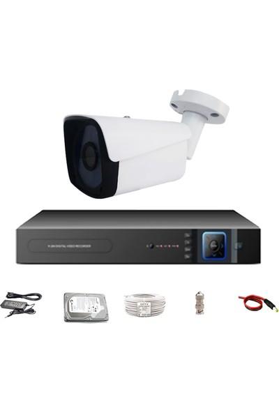 Promax Pro-153Sk6 1 Kameralı 3 Megapiksel Sony Lens 1080P Aptina Sensör Güvenlik Kamerası Seti