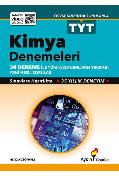 Aydın Yayınları TYT Kimya 30 lu Deneme Sınavı