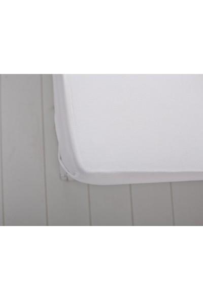 English Home Düz Pamuklu Tek Kişilik Çarşaf 160X240 Cm Beyaz
