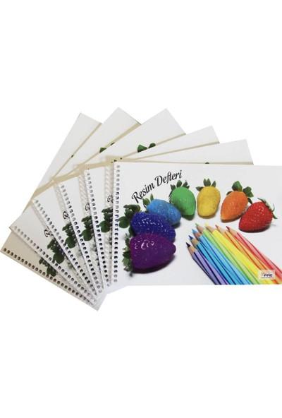 Color Liva Ekonomik Resim Defteri 17X24 15 Yaprak 6'Lı