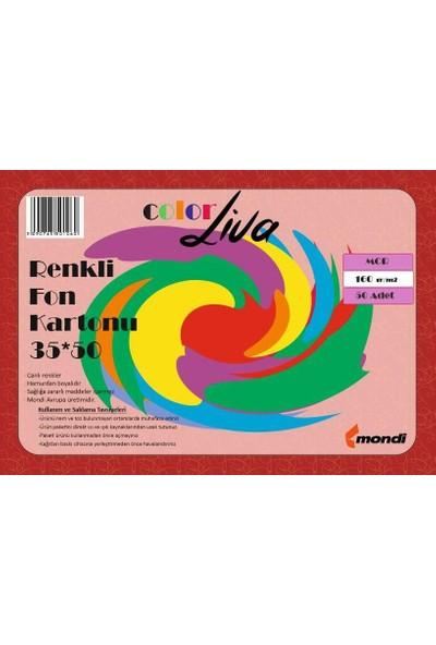 Color Liva Mondi Fon Kartonu Mor 35X50 50'Li Paket