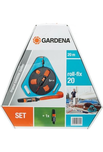 Gardena 757-20 Hortum Makarası Yassı 20 M, Dar Alanlarda Kullanmak İçin İdeal
