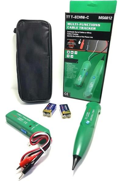 Tt-Tecnıc Ms-6812 Cable Tracker Kablo Bulucu Bili Bili