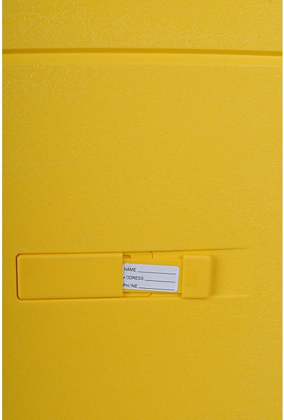 Cat 83546 Abs Orta Boy Valiz Sarı