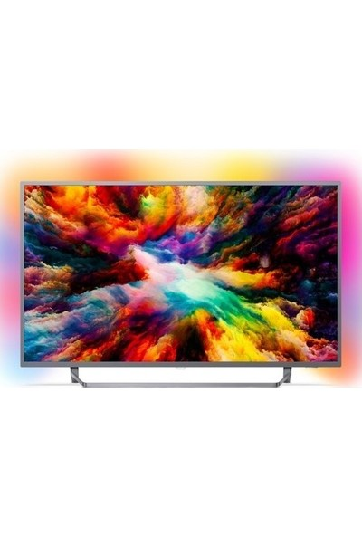 "Philips 50PUS7303/62 50"" 126 Ekran Uydu Alıcılı 4K Ultra HD Smart LED TV"