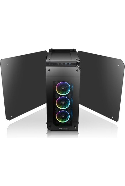 Thermaltake View 71 Tempered Glass RGB Plus Edition 4-Sided E-ATX Full Tower Kasa (CA-1I7-00F1WN-02)