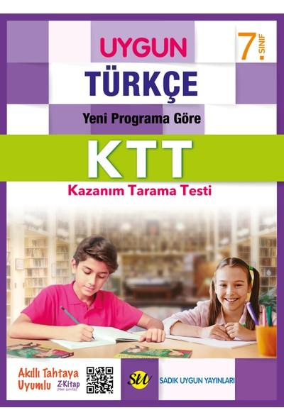 Sadık Uygun Yayınları 7. Sınıf Türkçe Kazanım Tarama Testi