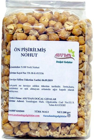 Asudan Doğal Gıdalar Ön Pişirilmiş Nohut 200 gr