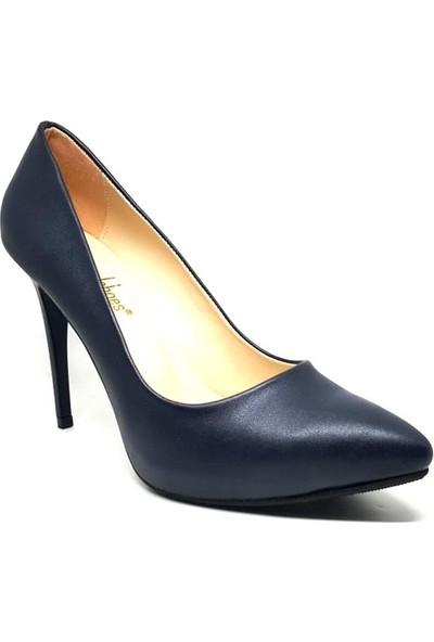 Shop And Shoes 146-121 Kadın Ayakkabı Lacivert