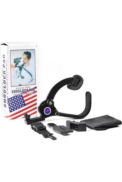 Deyatech Video Kamera Ve Dslr Makine İçin Omuz Tripodu Video Shoulder Pad