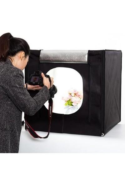 Deyatech Professinal 40X40 Ledli Ürün Çekim Çadırı Mini Stüdyo