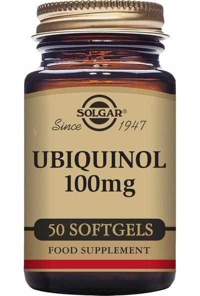 Solgar Ubiquinol 100 Mg 50 Tablet Destekleyici Besin Takviyesi