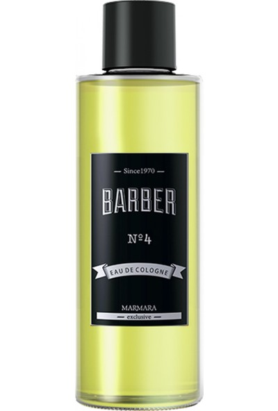 Barber NO 4 Eau De Cologne 500 ml