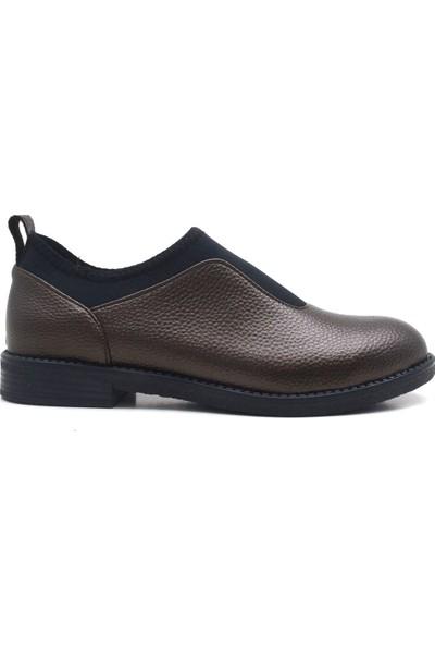 Sanita Bakır Esnek Günlük Kadın Ayakkabı