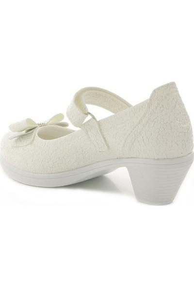 Kids World High 3320 Topuklu Kız Çocuk Ayakkabı
