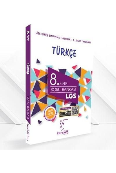 Karekök Yayınları 8.Sınıf Türkçe Soru Bankası
