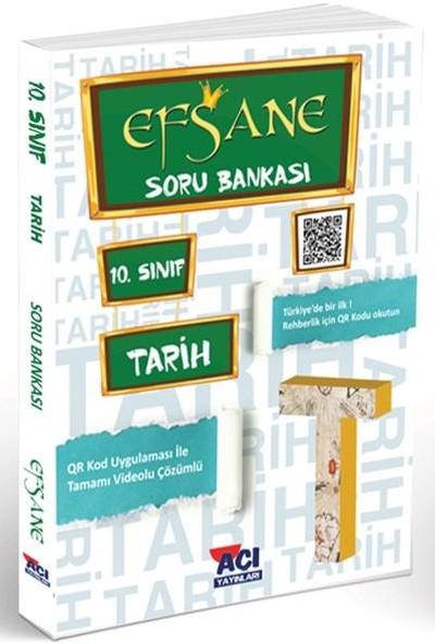 Açı Yayınları 10. Sınıf Tarih Efsane Soru Bankası